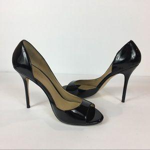 Aldo Black Peep-Toe Size 7
